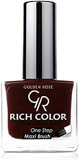 طلاء اظافر من جولدن روز , اللون الخمري رقم 30