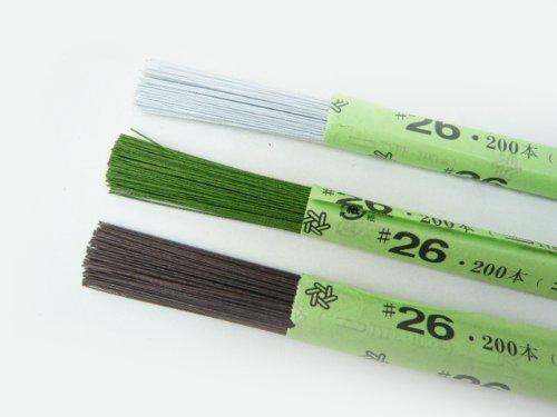 紙巻ワイヤー#26 36cm(200本)白