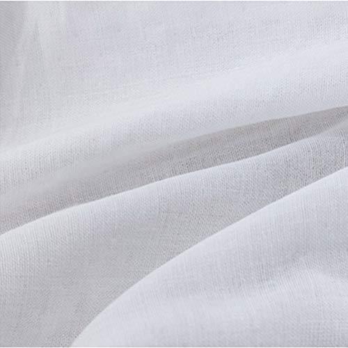 BSTQC Doble tela de gasa de algodón suave y transpirable universal portátil tela de algodón para coser DIY cara Escudo Saliva toalla