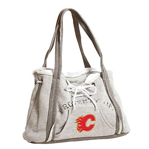 NHL Hoodie Geldbörse, Damen, 550404-FLMS-GREY, Calgary Flames, Gray