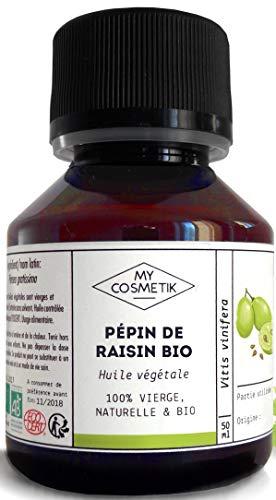 Huile végétale de pépin de Raisin BIO-...