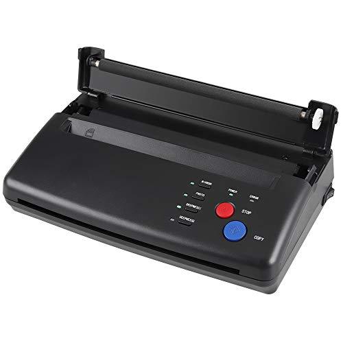 Anbull Máquina de Transferencia de Tatuajes, Impresora Portátil de Tatuajes, Impresora A4 Tattoo Printer, Copiadora para Papel de Transferencia de Tatuajes Papel de Carbón