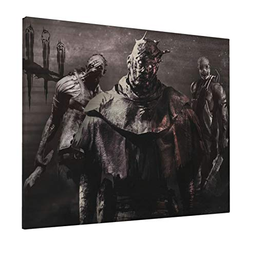 Uangerl Dead by Daylight 16x20 Inch Decorative Arts Oil Painting On Canvas Hd Modern Home Posters Picture Walking Wall Artwork for Living Room Bedroom Decoration
