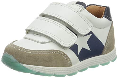 Bisgaard Jungen Liam Sneaker, Mehrfarbig (White/Navy 1411), 33 EU