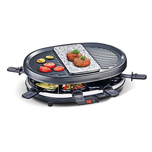 marque KB8 Appareil à raclette 8 Personnes Kiwi