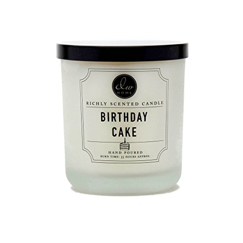 DW Home Decoware Richly Scented Candle Medium Single wick 9.69 oz ---- Birthday Cake