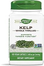 Nature's Way Kelp Capsules, 600 mg, 2 Count
