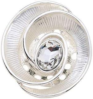 Treend24 Broche magn/étique pour femme Motif ancre et c/œur en forme de chouette