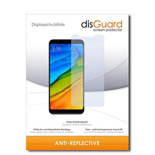 disGuard® Bildschirmschutzfolie [Anti-Reflex] kompatibel mit Xiaomi Redmi 5 Plus [2 Stück] Entspiegelnd, Matt, Antireflektierend, Extrem Kratzfest, Anti-Fingerabdruck - Panzerglas Folie, Schutzfolie