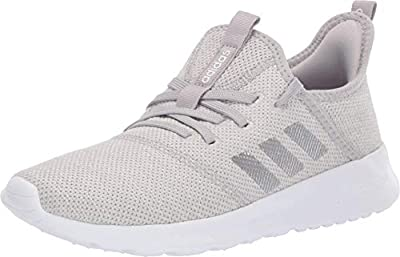 adidas Women's Cloudfoam Pure Track and Field Shoe, Matte Silver/Grey, 10 Standard US Width US