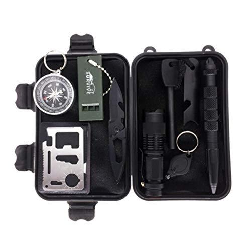 SPECIEALREPLICAS Survival Military Set 12in1 für Erste Hilfe für Sie oder als Geschenk im Wald für einen Jagdausflug, Camping oder Urlaub zs-6