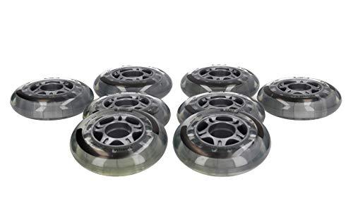Hyper Skate inliner 80mm Rollen 8 Stück -Stabile Felgen- für alle gängigen Inliner-Marken geeignet