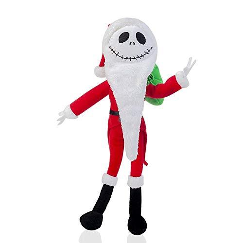 Peluches Pesadilla Antes De Navidad Santa Jack Skellington Muñeco De Peluche Animales De Peluche De Juguete Regalo De 12 Pulgadas