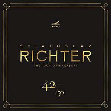 Святослав Рихтер 100, Том 42 (Live)