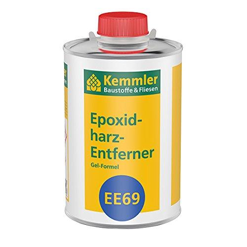Kemmler Epoxidharz-Entferner EE69, Spezialgel zur mühelosen Entfernung von Epoxidharz-Schleiern nach der Verfgung- 1 l/Dose
