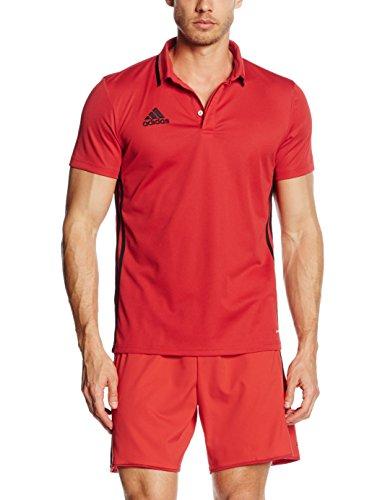 adidas Herren Poloshirt Condivo 16 CL, Scarlet/Black, XXL, AJ6898