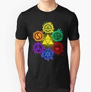 Legend of Zelda - Ocarina of Time - The 6 Saeges Slim Fit T-Shirt For Man & Woman