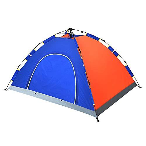 Opvouwbare draagbare kampeertent, snelopenende automatische tent, waterdicht en zonnebrandcrème, goede luchtdoorlatendheid, eenvoudig op te zetten