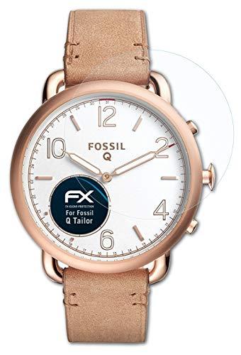 atFoliX Schutzfolie kompatibel mit Fossil Q Tailor Folie, ultraklare FX Bildschirmschutzfolie (3X)