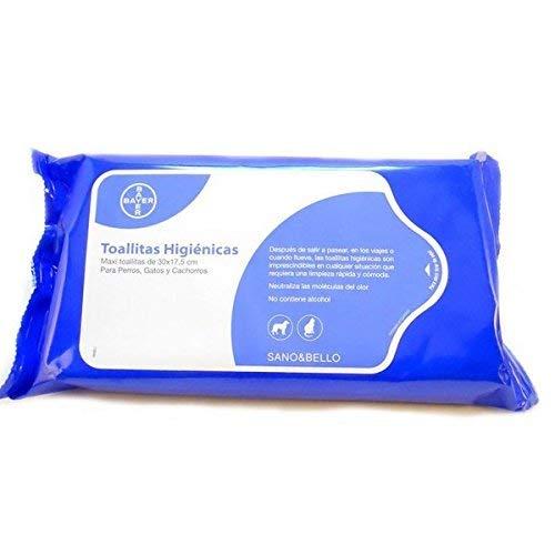 Bayer Sano&Bello Pack de 35 ToallitasLimpiadoras - 1 Pack de Toallitas