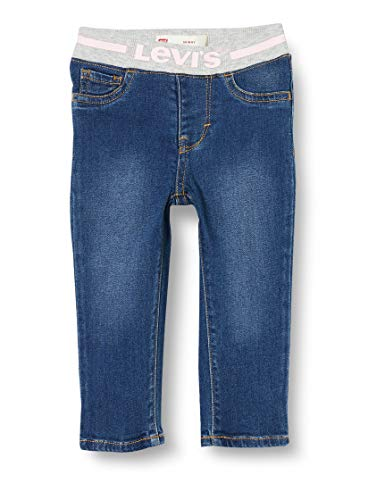 Levi's Kids Lvg Pull On Skinny Jean Jeans Baby - Mädchen West Third/Pink 9 Monate