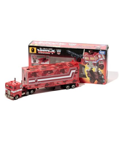 Transformers Convoy reprint BAPE Ver. RED CAMO Ape limited color (japan import)