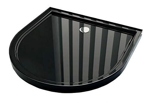 Duschtasse für U-Duschen 100 x 100 cm (schwarz)
