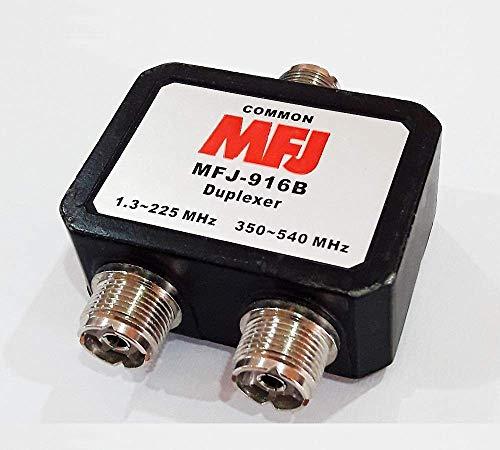 MFJ Enterprises Original MFJ-916B 1.8-225, 350-540 MHz Duplexer - SO-239
