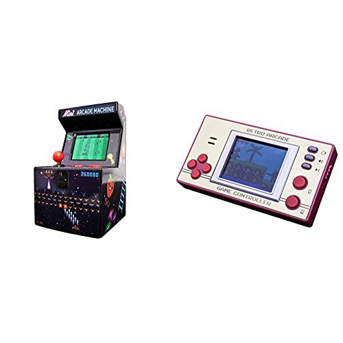 Thumbs Up - 240in1-8Bit Mini Arcade Maschine, Enthält 240 Spiele & A0001401 Orb - Retro Arcade Games - inkl. 153x 8-Bit Spielen