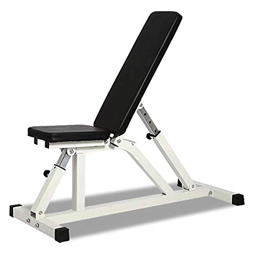 Adjustable Weight Bench Fitness Flat Incline Decline Essential Utility Exercise Home Gym Equipment