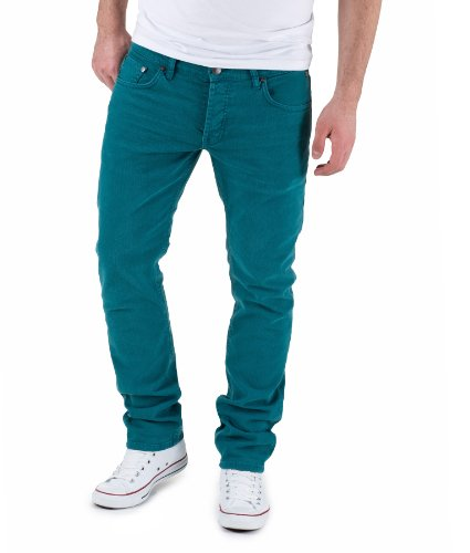 LTB Jeans Herren Straight Leg Jeans Sawyer Ephesos Wash, 2517, W38/L32