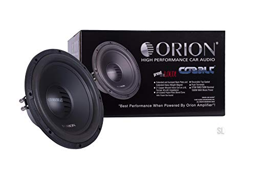 "ORION Cobalt Series CT124D 12"" SUBWOOFER 1000 WATTS MAX Music Dual Voice Coil 4 OHMS CAR Audio CAR Stereo WOOFER"