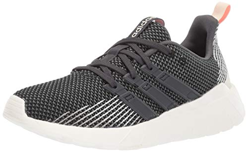 adidas Women's Questar Flow Running Shoe, Black/Grey/dust Pink, 5.5 M US