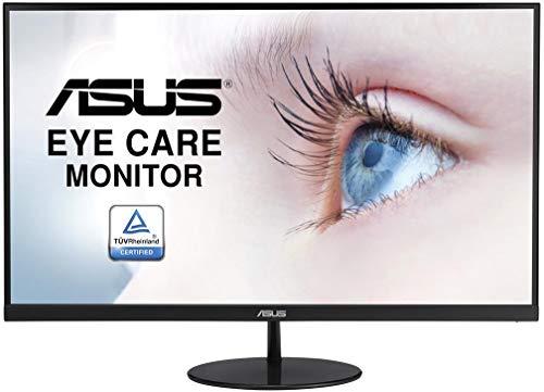 ASUS VL278H 68,58 cm (27 Zoll) Monitor (VGA, HDMI, Full HD, FreeSync, 1ms Reaktionszeit, 75Hz) schwarz