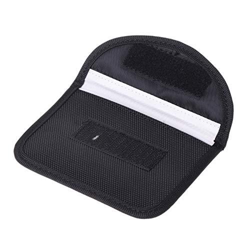 Pouitt 1 PC Auto Car Key Funda Bolsa de Bloqueo Bolsa de Bloqueo Electromagnético Bolso de protección para la protección de la privacidad