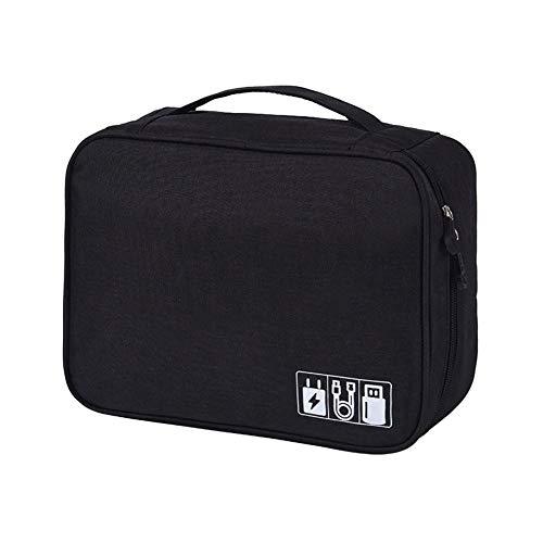 VRIKOO Portable Travel Cable Organizer Bag Waterproof