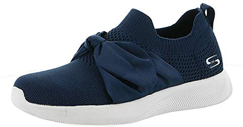 Skechers BOBS Women's Bobs Squad 2. Sock Fit Slip on Engineered Knit Memory Foam Sneaker