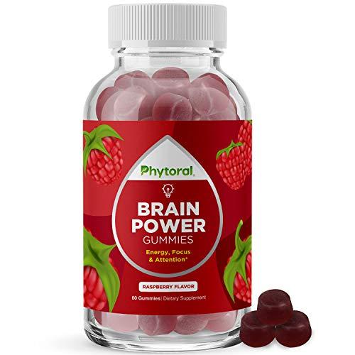 Vitamin B12 Gummy Vitamins for Adults - Nootropic Brain Booster Vitamin B12 Gummies for Adults Natural Energy Booster and Brain Focus Aid - Brain Gummies with Methylcobalamin B12 Vitamin 1000 mcg