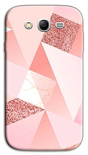 Mixroom - Cover Custodia Back Case in TPU Silicone Morbida per Samsung Galaxy Grand Neo I9060i (Plus) Fantasia Rosa e Glitter N1099