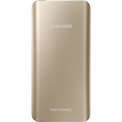 Samsung Externer Akkupack (5200mAh) mit Schnellladefunktion, gold