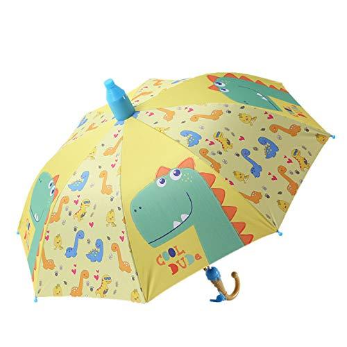 Ombrello pieghevole Ombrello Bambini Bella Pioggia Ombrelli Da Sole Cartoon Unicorno Ombrello Bambini Dinosauro Gatto Giraffa Stampa Ombrelli Semi Automatico