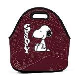 LIUYAN lonchera Personalizada Snoopy Mom Bolsa para Adultos, Hombres, Mujeres y niños
