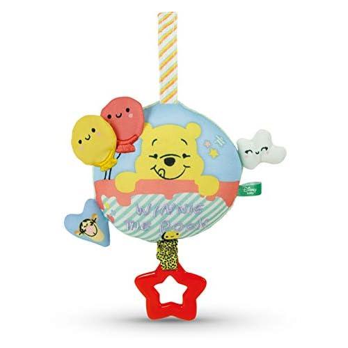 Clementoni- Winnie The Pooh Morbido Carillon, Multicolore, 17276