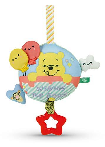 Clementoni 17276 Winnie The Pooh Kuschelige Spieluhr, Mehrfarbig