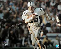 Fred Biletnikoff Signed Autographed 16x20 Photo Oakland Raiders Silver Ink JSA - Autographed NFL Photos