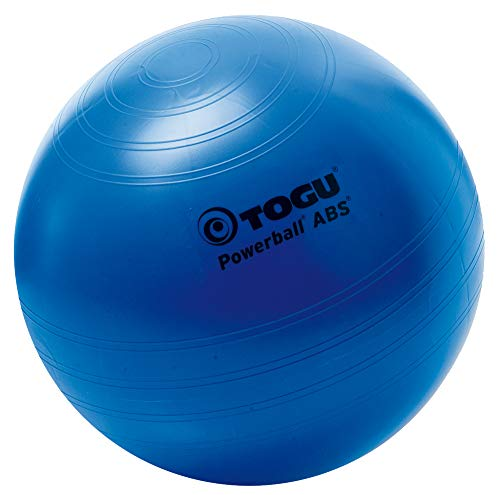 Togu Gymnastikball Powerball ABS (Berstsicher), blau, 35 cm