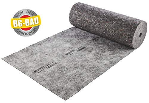 Hammerfest Schutz-Legeboden 850 g/m² | Abdeckvlies | Bodenschutz | Malervlies | 1 m x 25 m