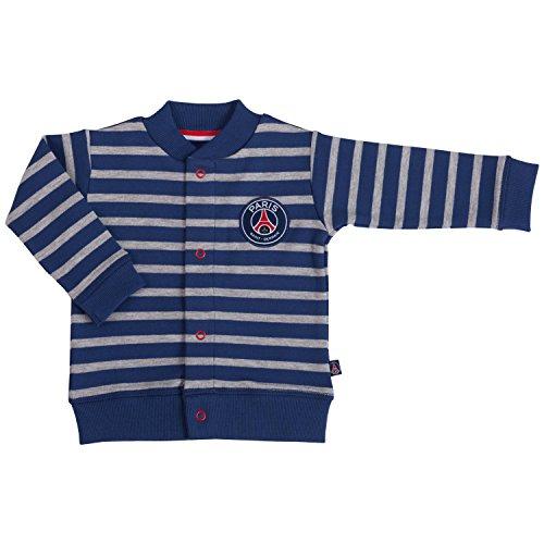 Weste PSG–offizielle Kollektion PARIS SAINT GERMAIN–Größe Baby Jungen 80 blau