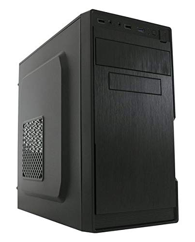 LC-Power 2014MB Midi-Tower PC-Gehäuse ATX Tower Schwarz - Midi ATX Tower, PC, Metall, Micro-ATX, Mini-ITX, Schwarz, 13,5 cm
