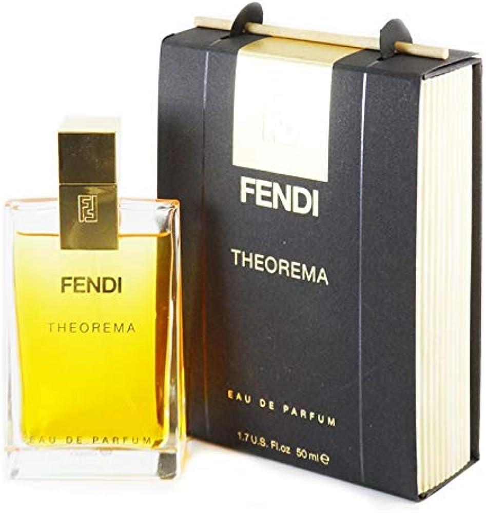 Fendi theorema, eau de parfum, profumo per donna, 50 ml, spray